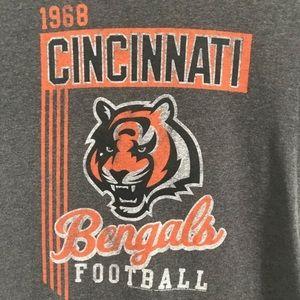 Junk Food Clothing Tops - Junk Food Cincinnati Bengals NFL Graphic Tee